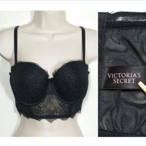VICTORIA'S SECRET Very Sexy Demi Bra Floral Lace